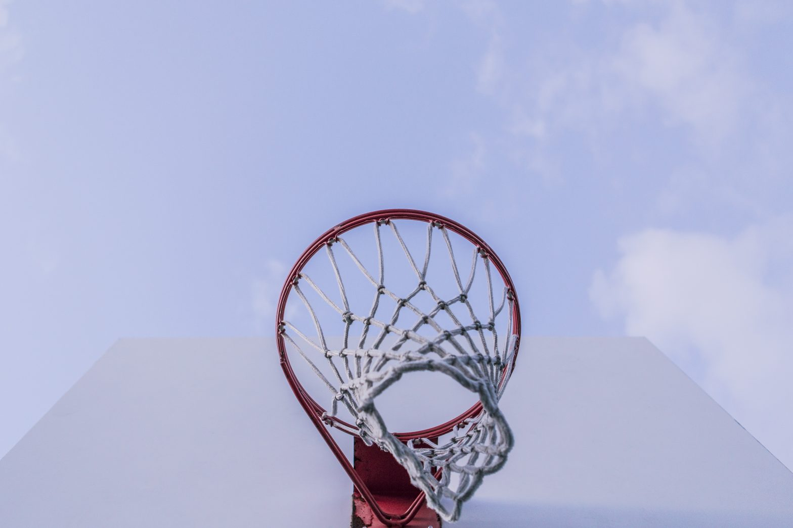 Aim High, basket ball net