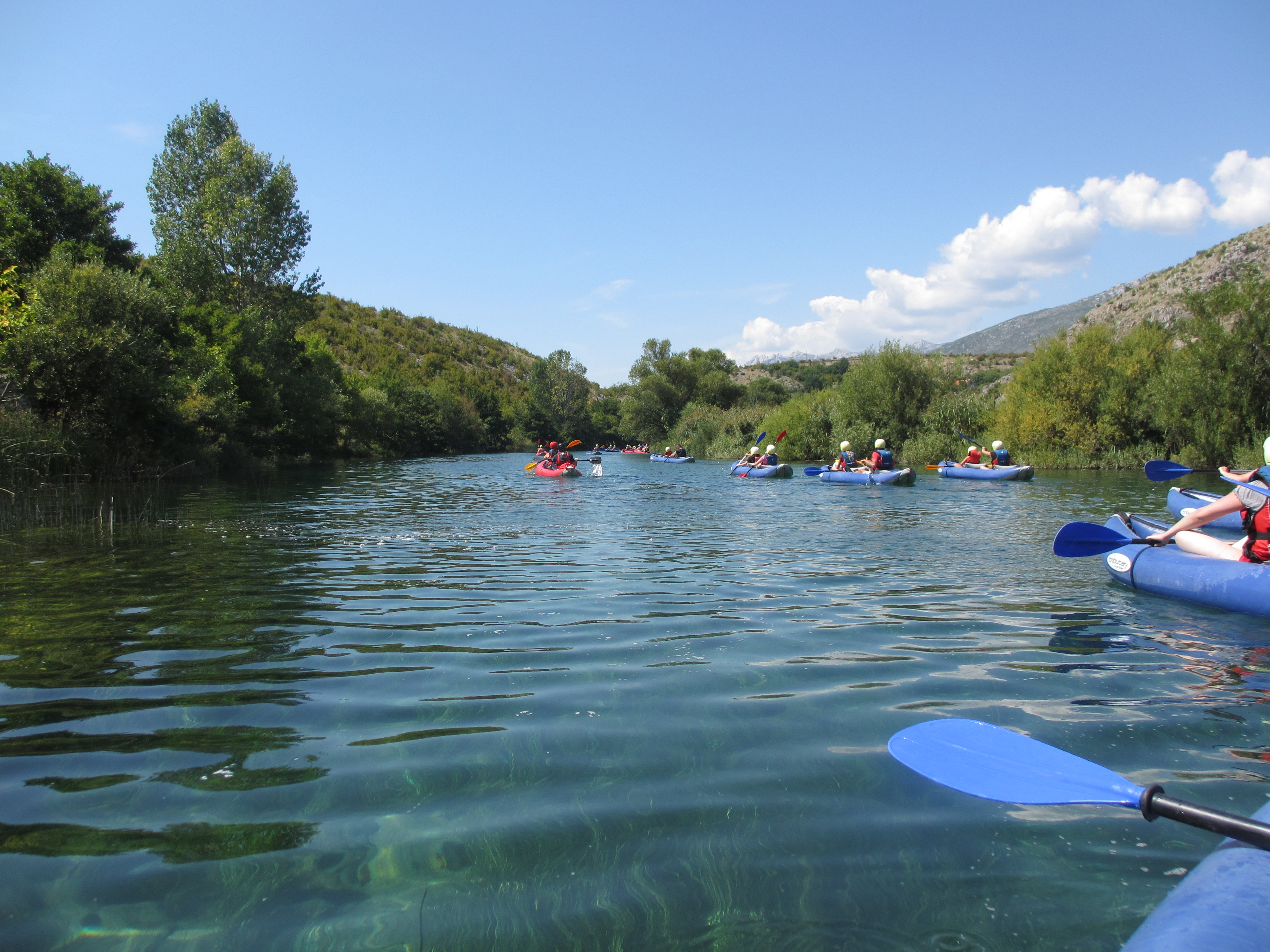 kayak trip kids