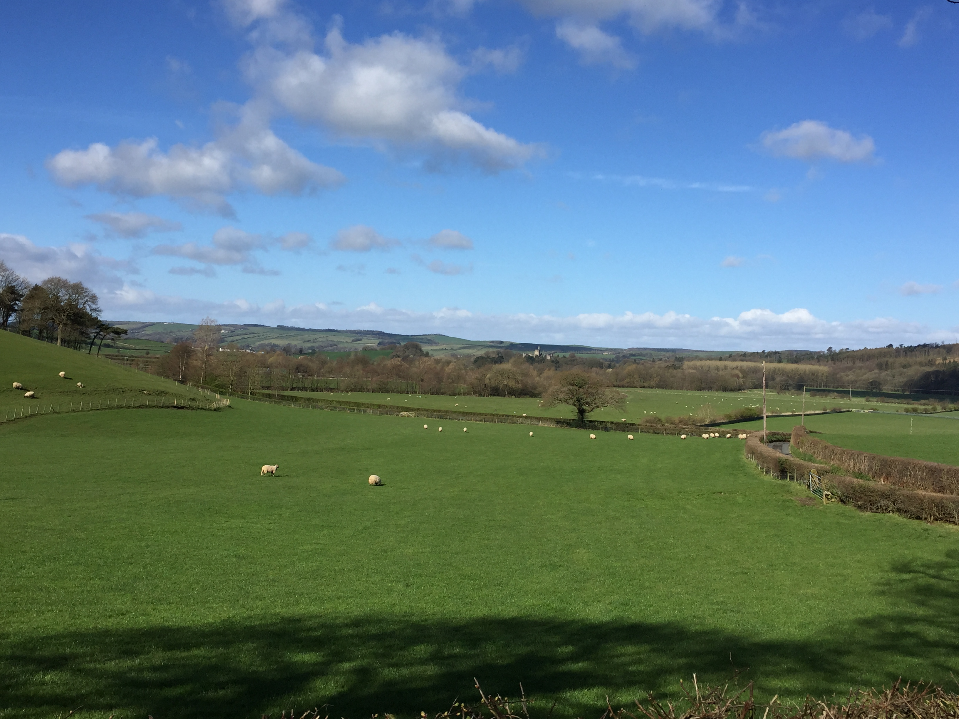 rolling hills of Lune Valley