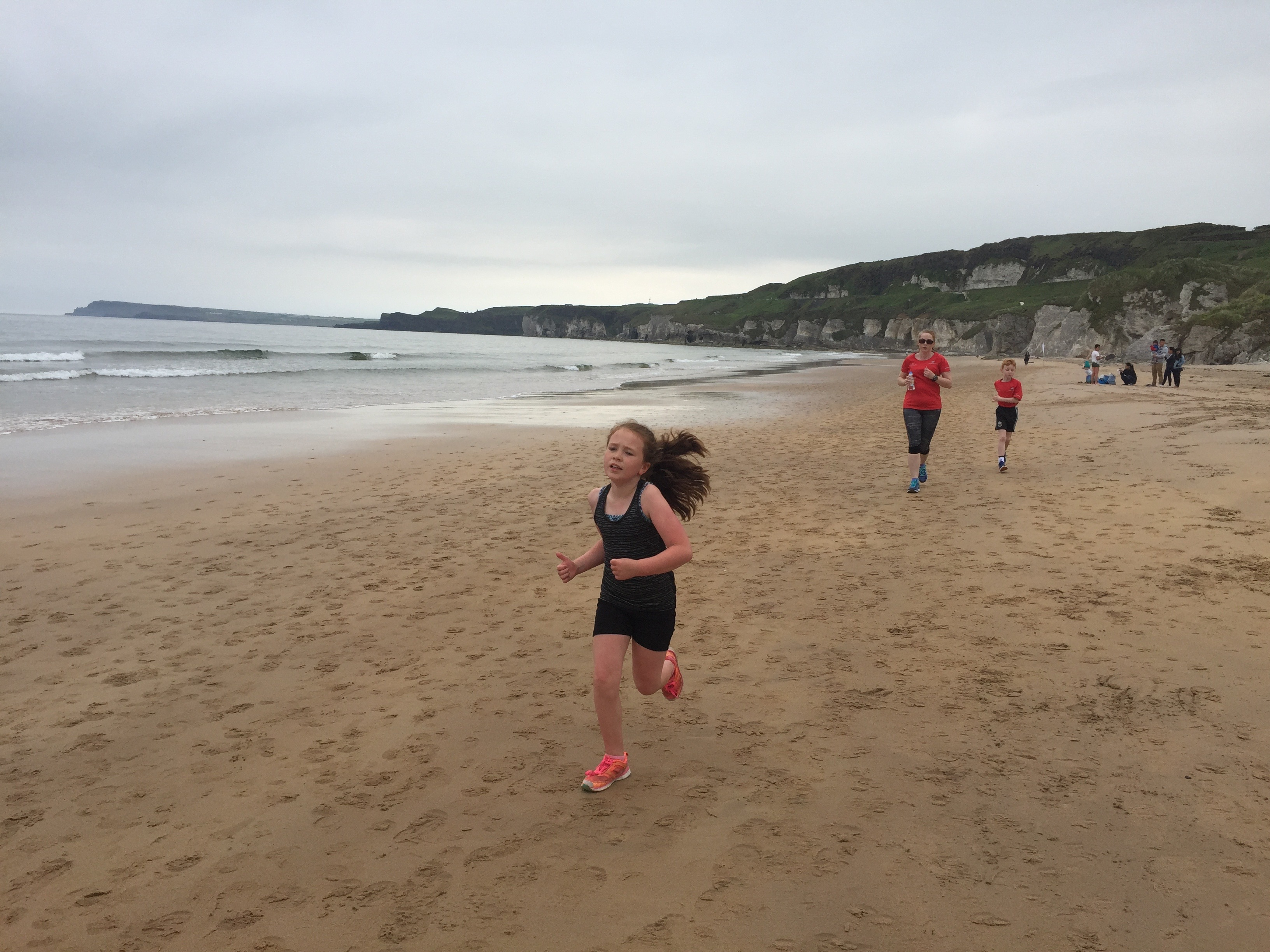 girl doing parkrun