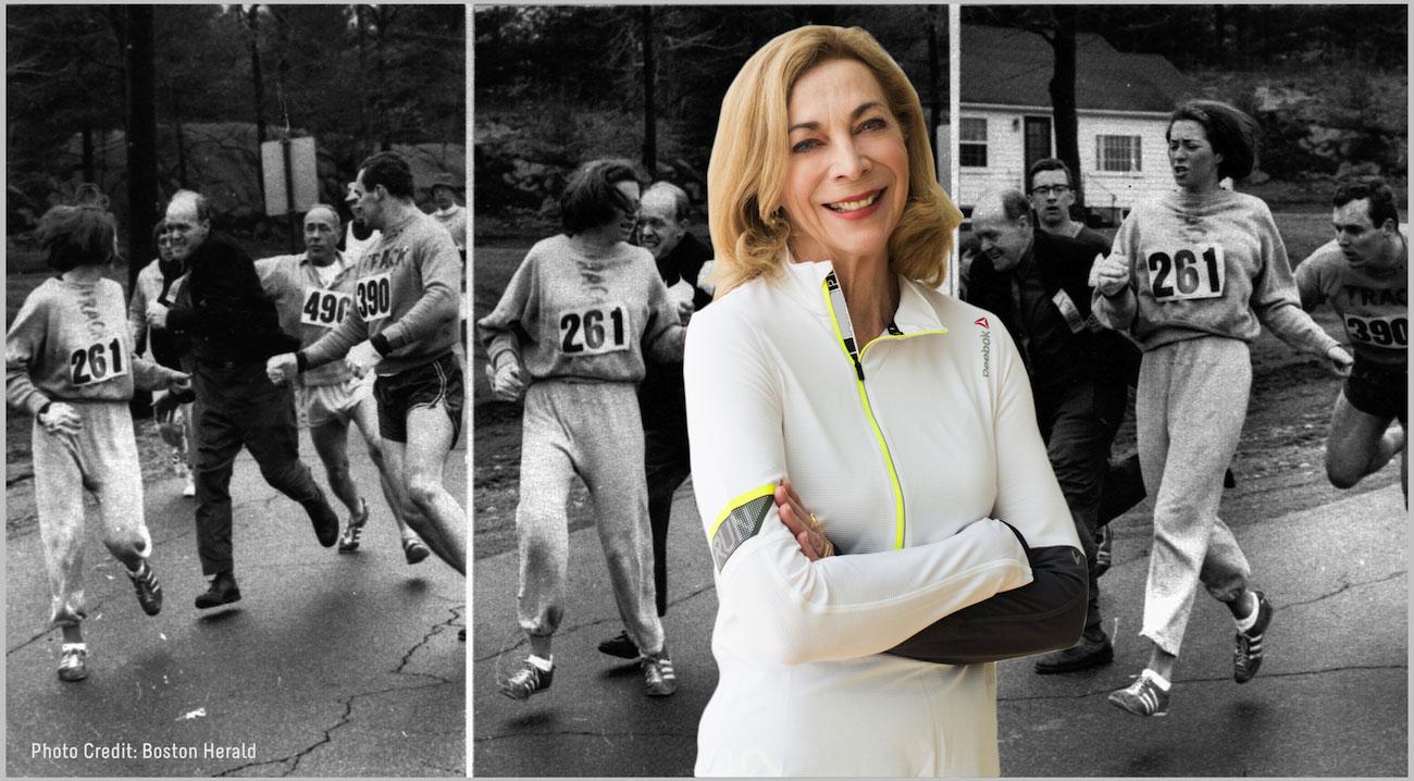 Kathrine Switzer Dr Juliet McGrattan