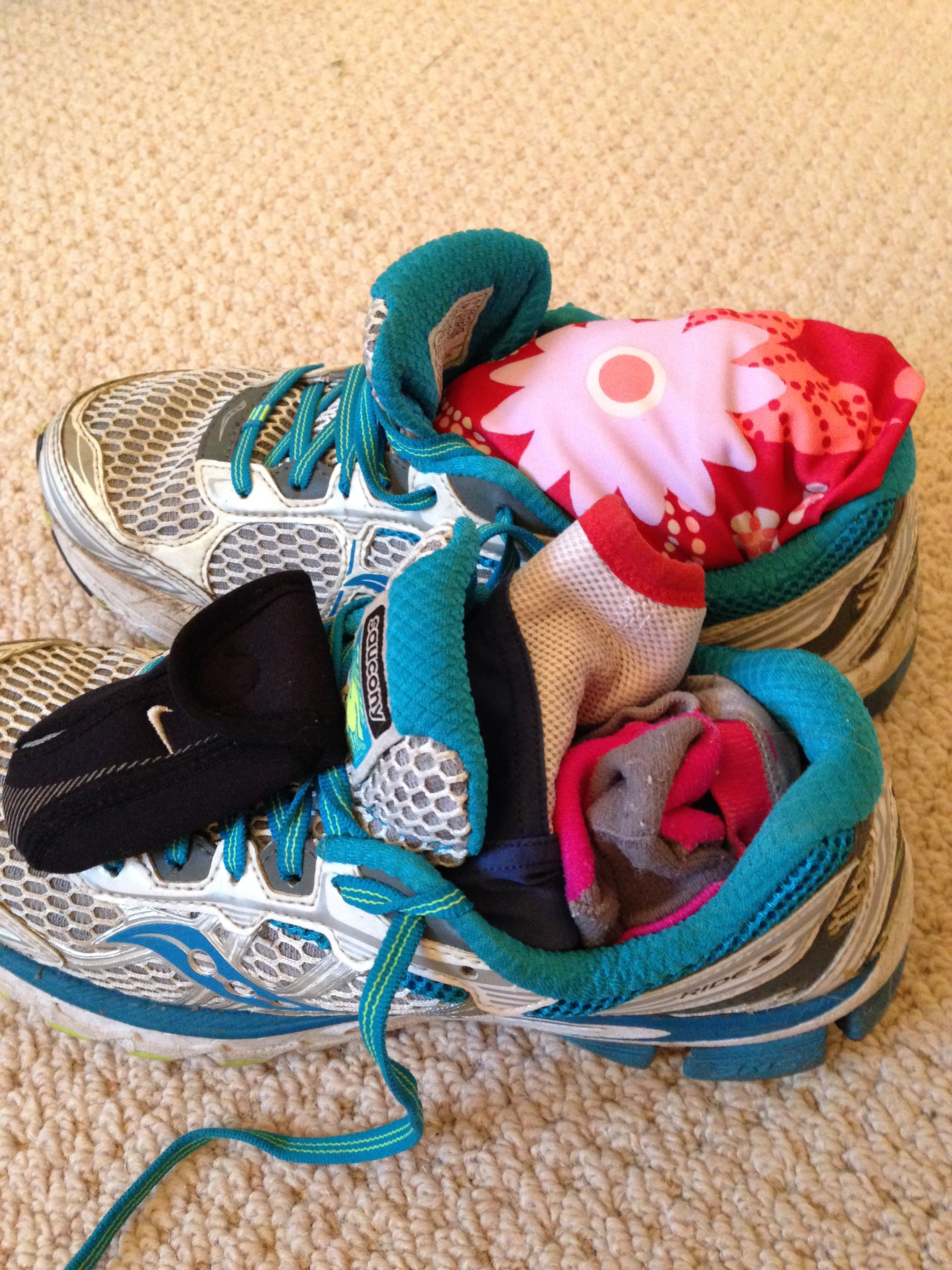 Saucony trainers, running kit for holiday