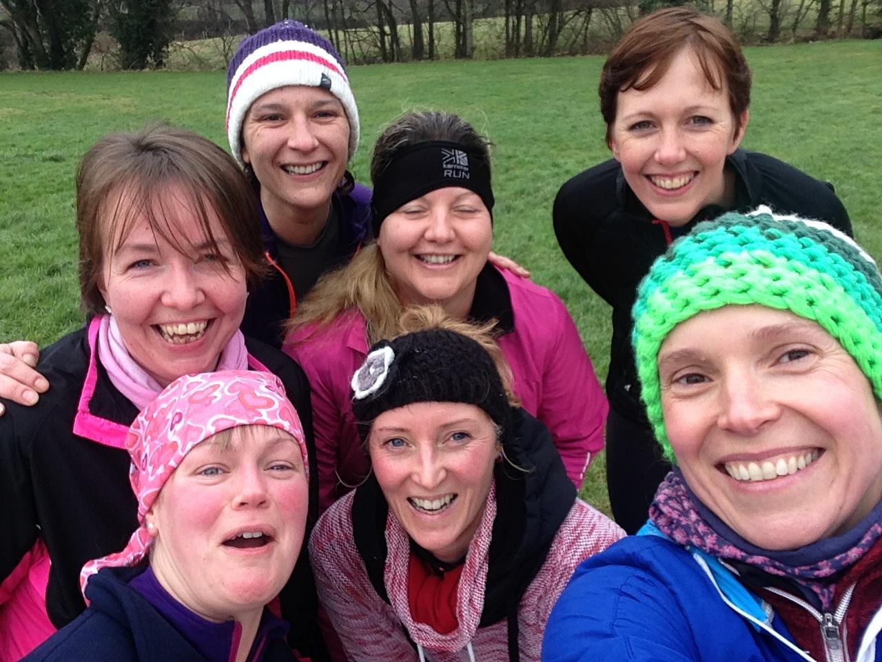 women running club