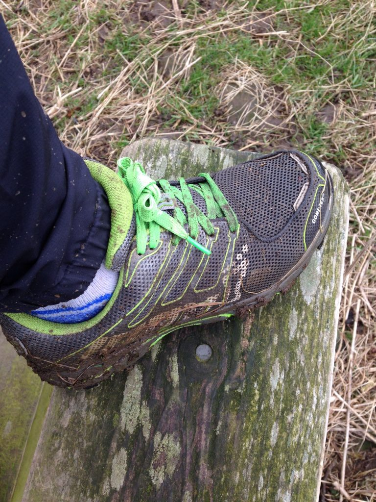 What's on my feet? Getting sentimental about trainers!