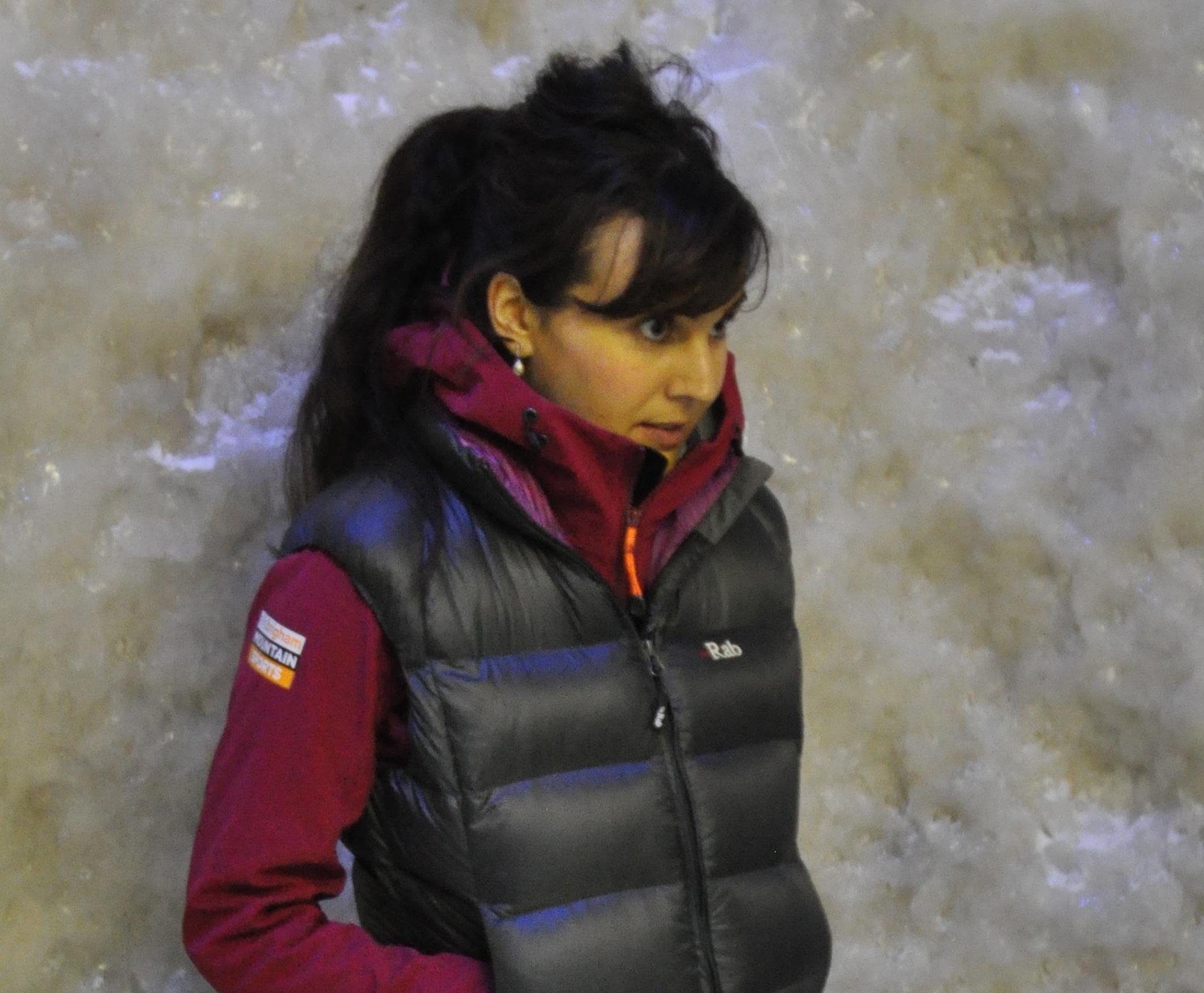 Shona Thomson ice marathon