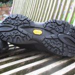 Vibram sole on DLX trail shoe