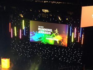 At The Running Awards With Strava