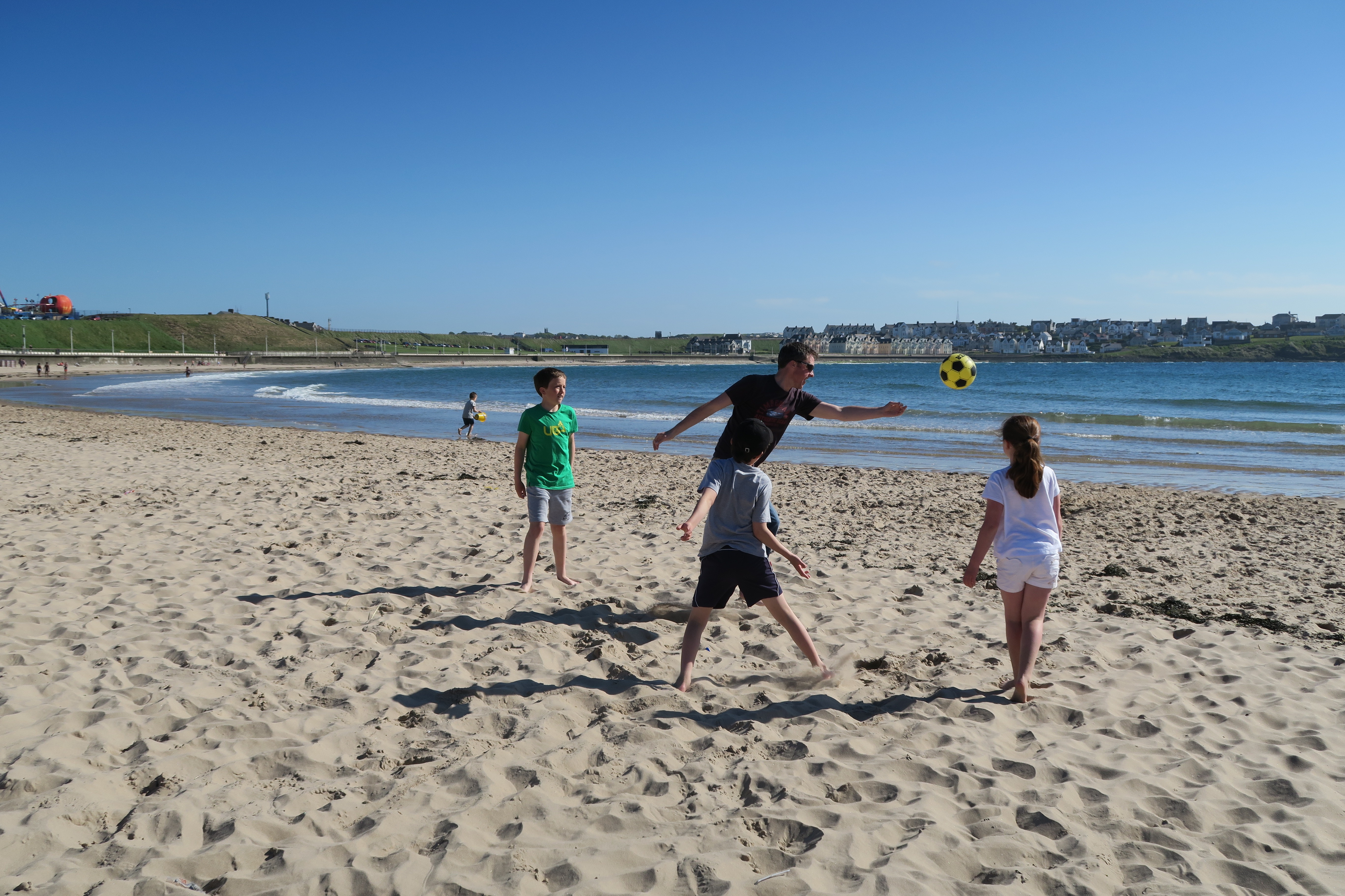 family beach ball