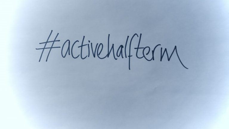 Join Us In Our Active Half Term Challenge