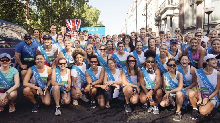 The Westminster 100 team at the Virgin Sport British 10k