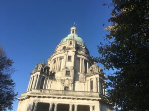 Running in Williamson Park